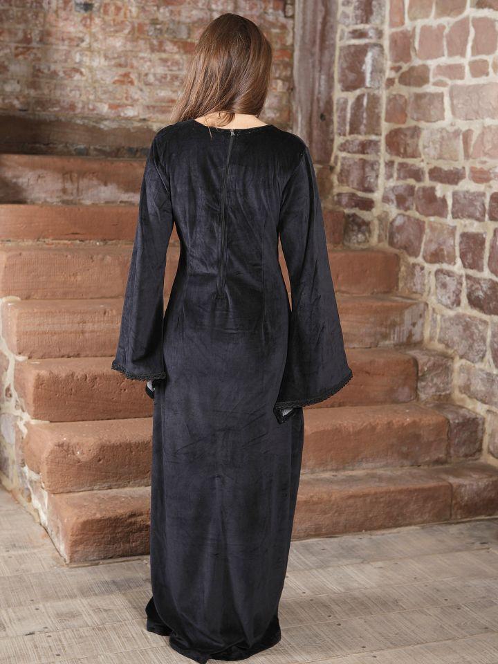 Kleid aus Samt 4