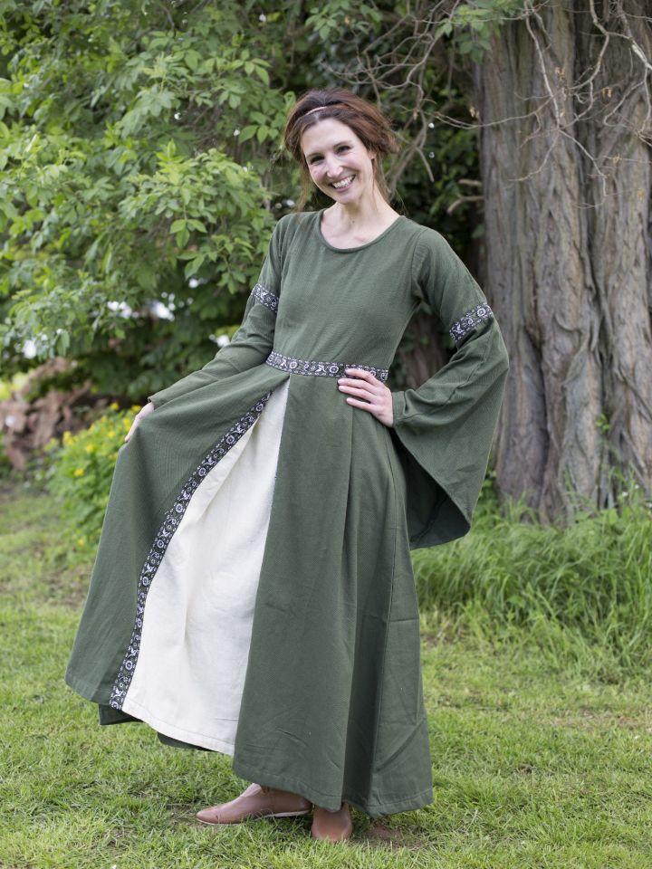 Herbstkleid in waldgrün 4