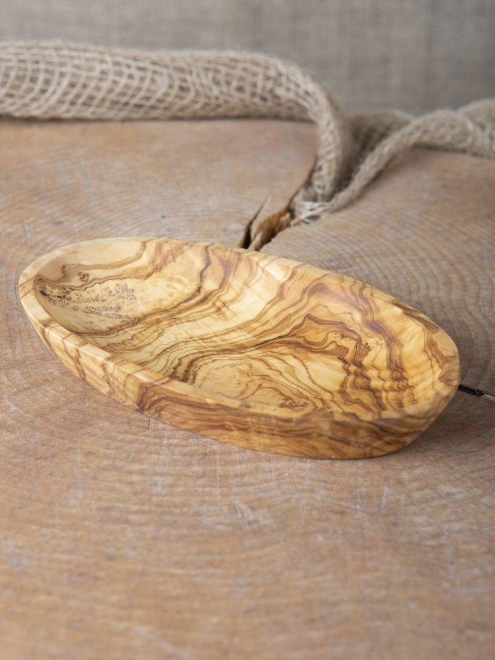 Schale aus Olivenholz groß 4
