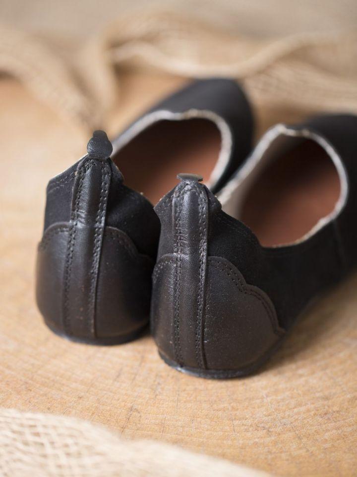 Mittelalterschuhe mit Gummisohle schwarz 39 4