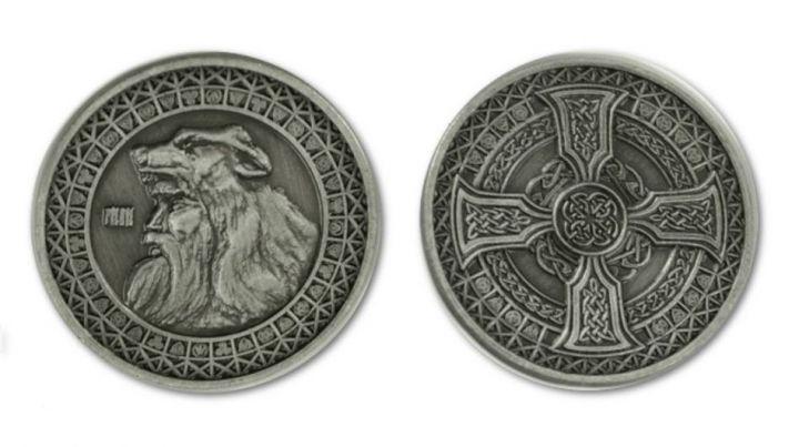 LARP-Münzen Erde ohne Lederbeutel 4