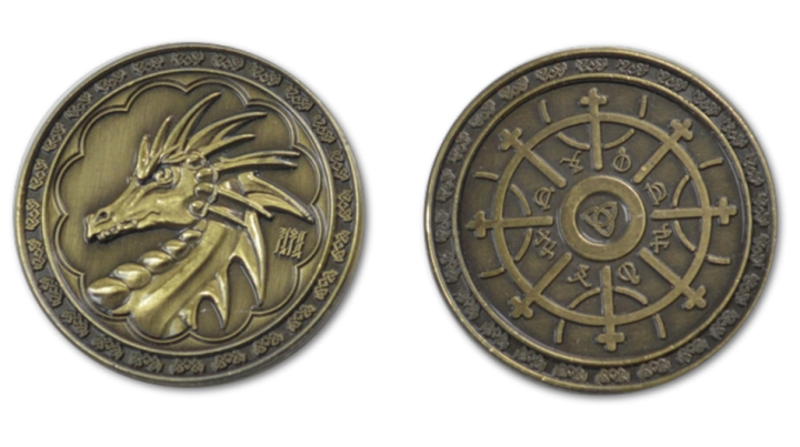 LARP-Münzen Magier 4