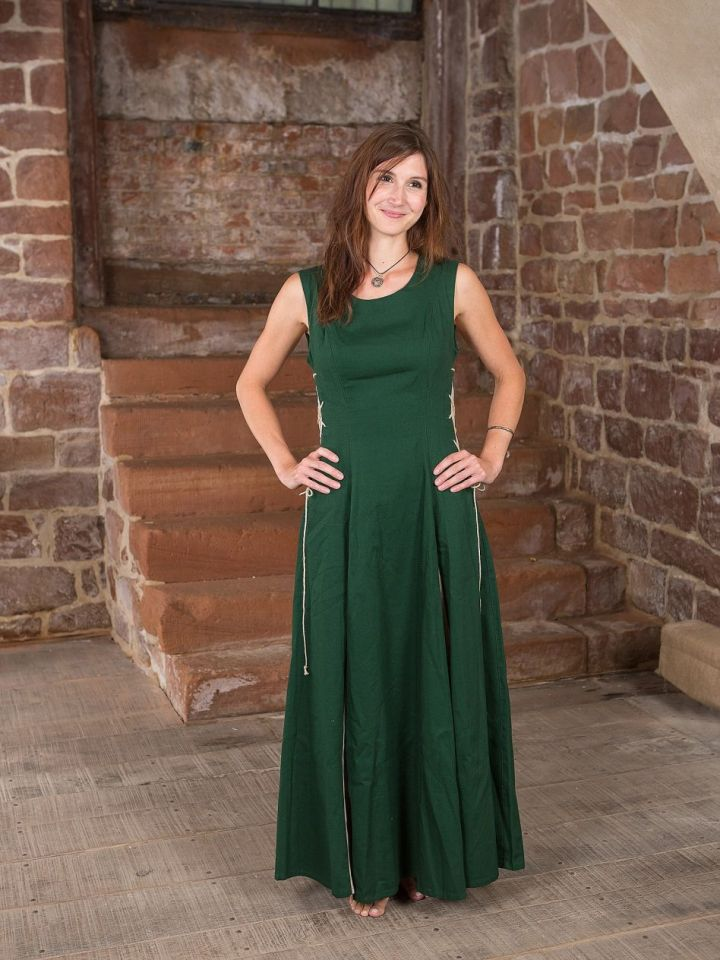 Ärmelloses Kleid grün L 4