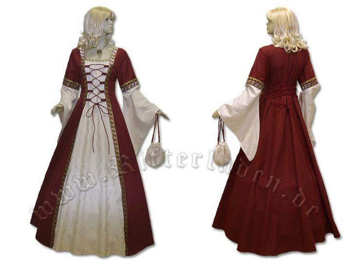 """Kleid """"Iris"""" aus Brokat und Baumwolle 4"""