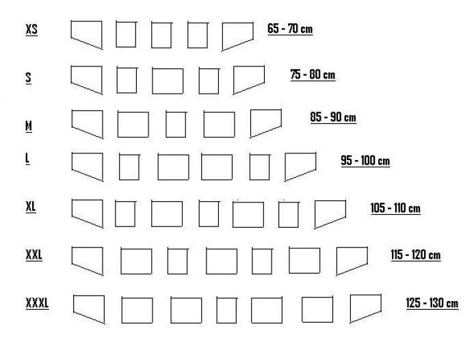 Schnürmieder aus Nubukleder in schwarz L 4