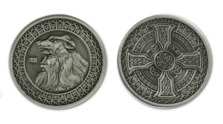 LARP-Münzen Erde 4
