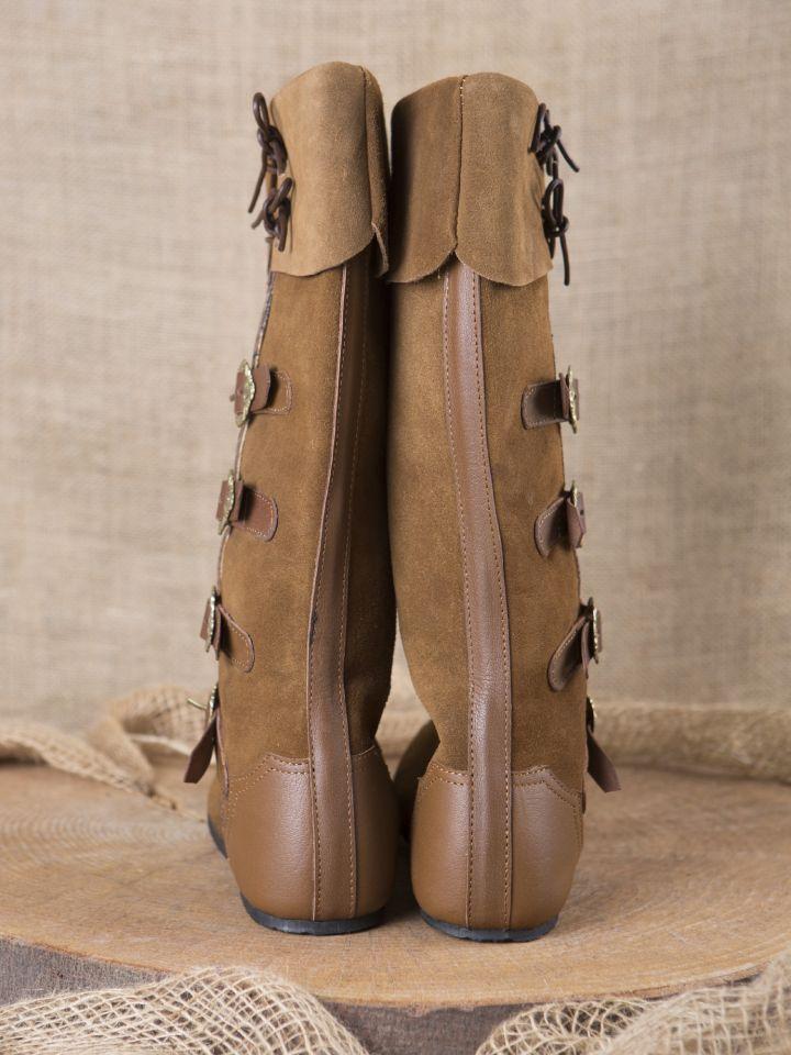 Mittelalter Stiefel Sewolt braun 4
