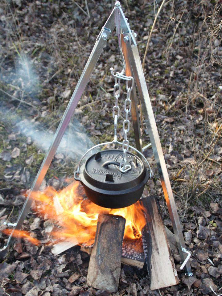 Feuertopf aus Gusseisen 9 Liter mit Drachenlogo 4