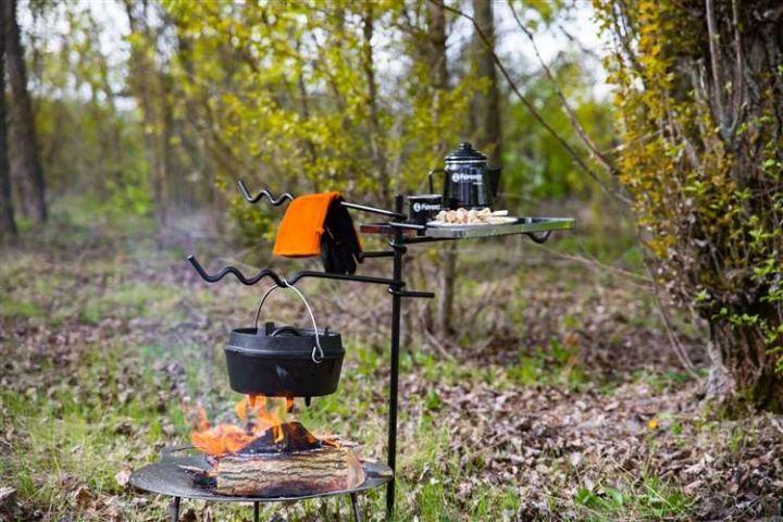 Feueranker für die Kochstelle 4