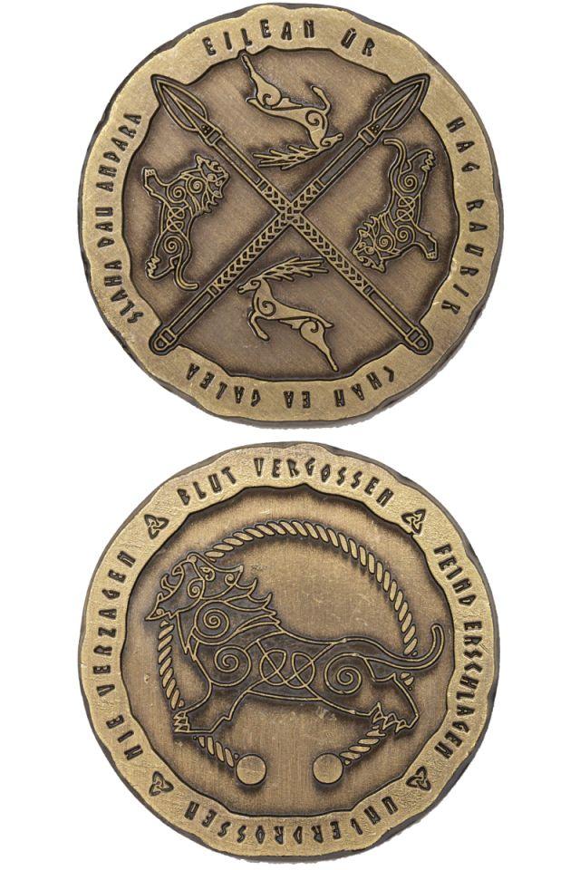 LARP-Münzen Kelten 4
