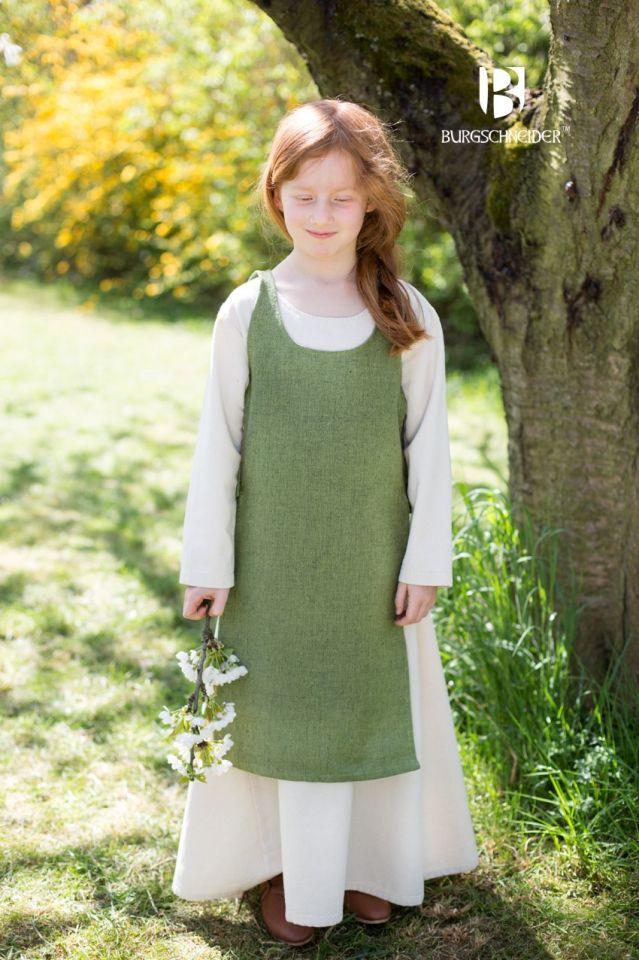 Kinderüberkleid Ylva lindgrün 4