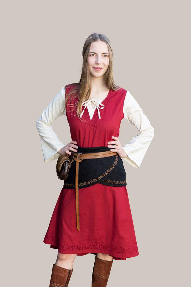 Überkleid Lannion rot 4