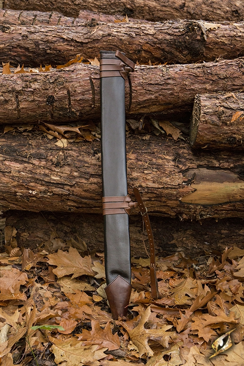Schwertscheide für Larpschwerter large | schwarz 4