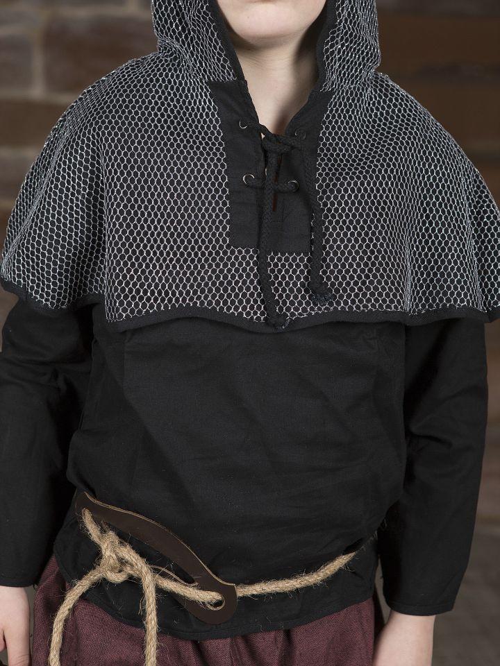 Ritterhemd mit Kettenhaube 4