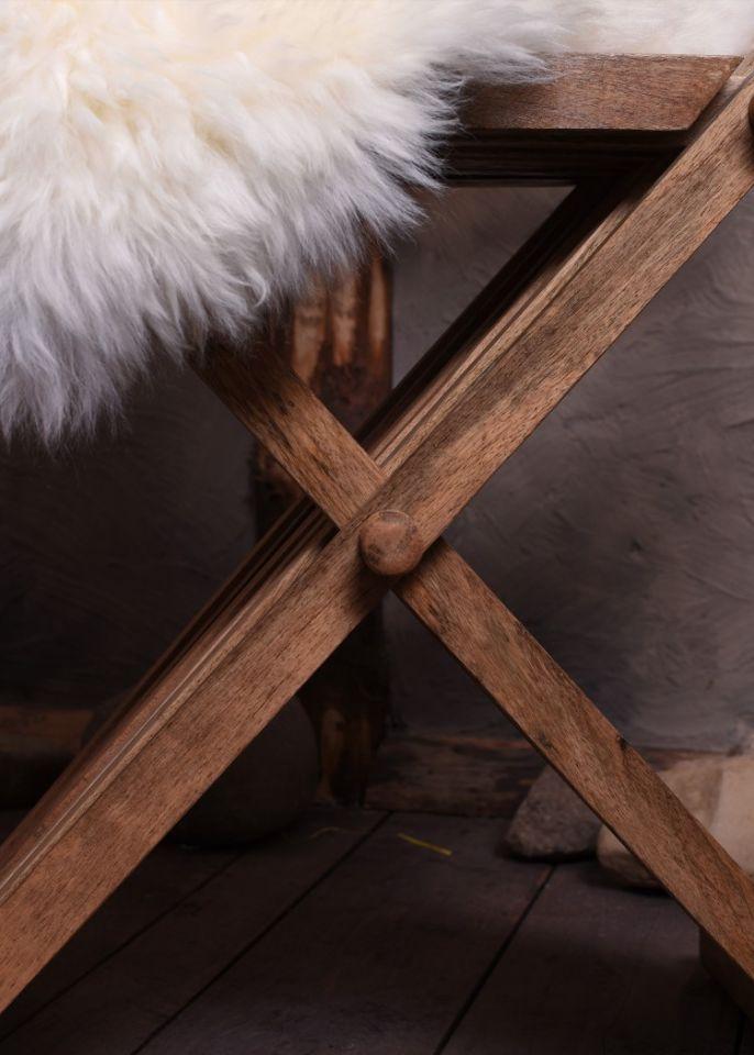 Mittelalterlicher Scherenstuhl 4