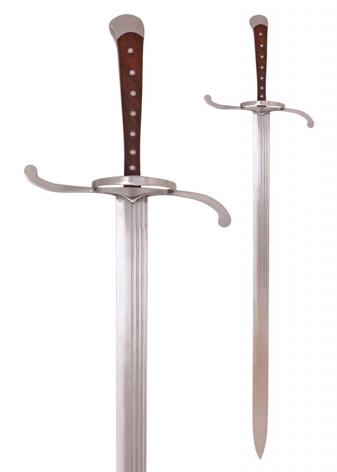 Langes Messer mit Lederscheide 4