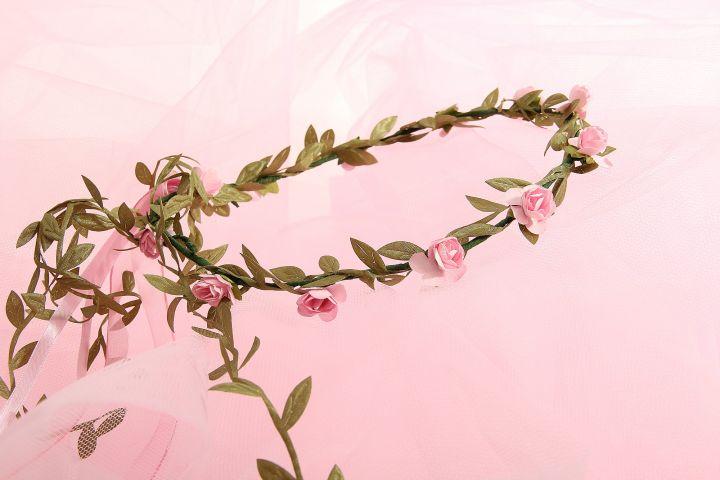 Blumenkranz rosa 4