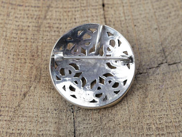 Scheibenfibel - Silber oder Bronze 4