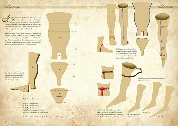 Kleidung des Mittelalters selbst anfertigen - Grundausstattung für die Frau 4