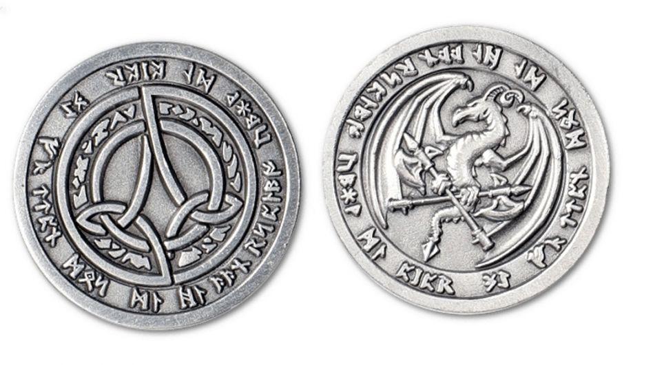 Ritterladen Larp Münzen Feuer Mittelalter Shop