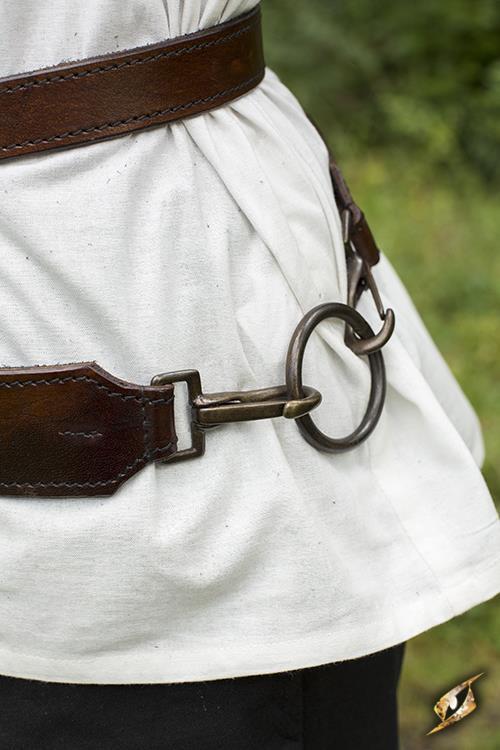 Schwertgürtel für LARP-Schwerter braun 5