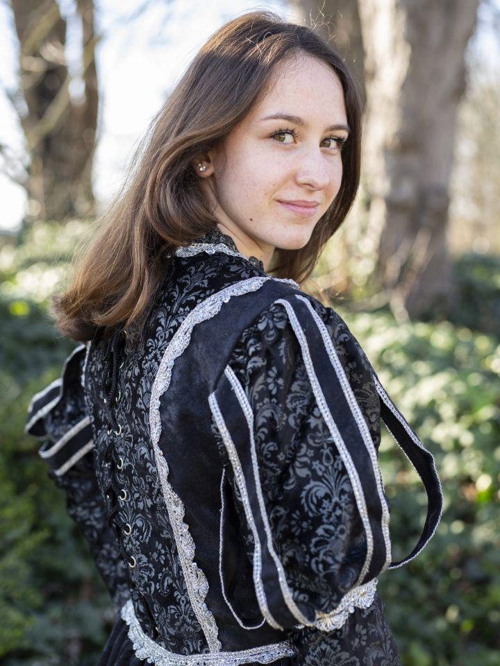 Tudorkleid schwarz 5