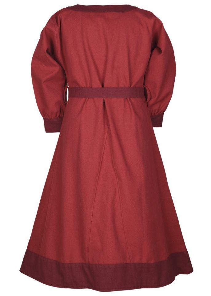 Wikingerkleid für Kinder rot/weinrot 5
