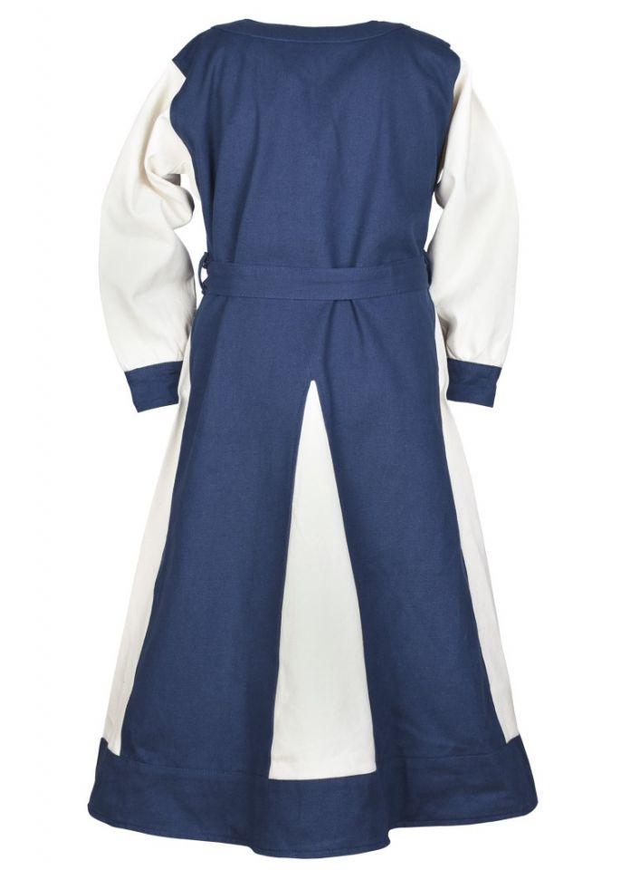 Wikingerkleid für Kinder blau/natur 5