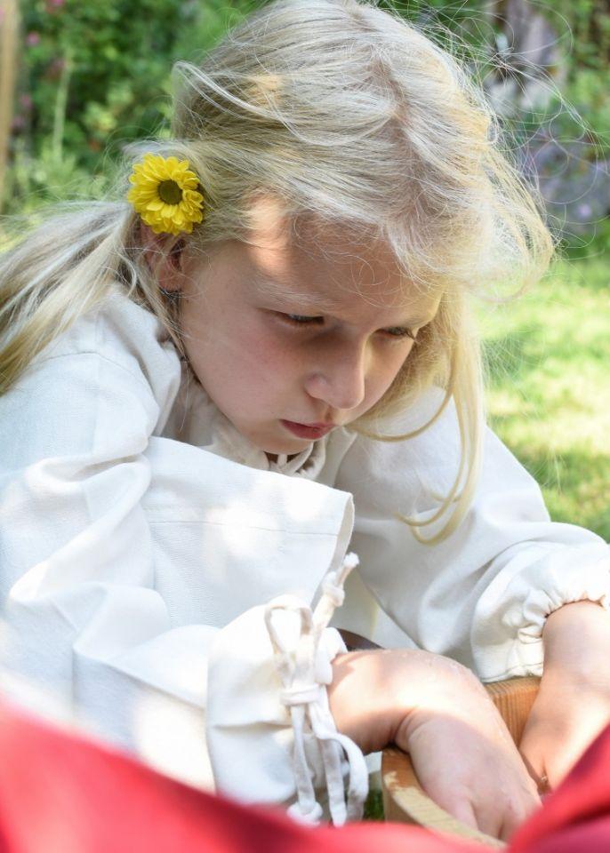 Kinder-Unterkleid Mara natur 5
