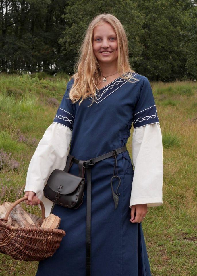 Kleid Agatha blau 5