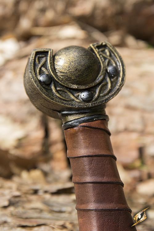 Keltisches Blattschwert für LARP - 60 cm 5