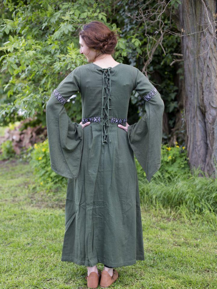 Herbstkleid in waldgrün 5