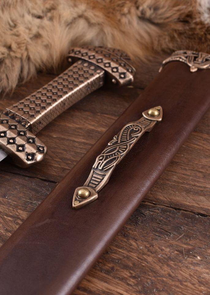 Wikingerschwert mit Bronzegriff 5