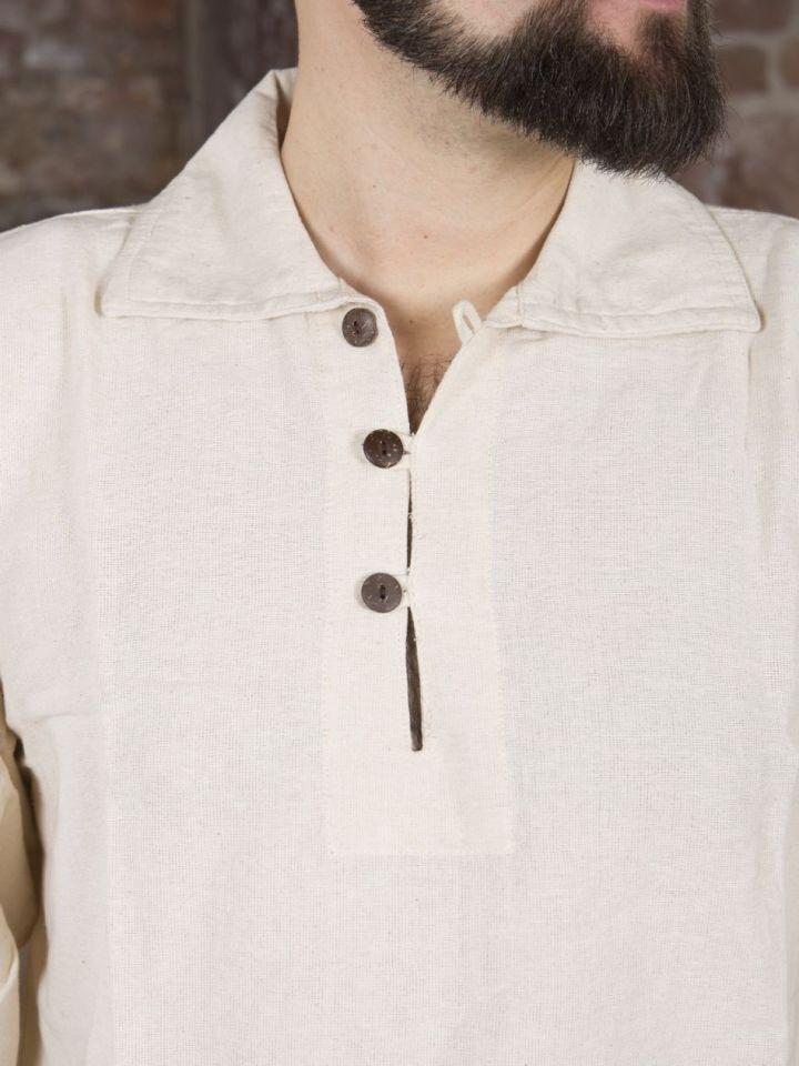 Hemd mit Kragen natur XL 5