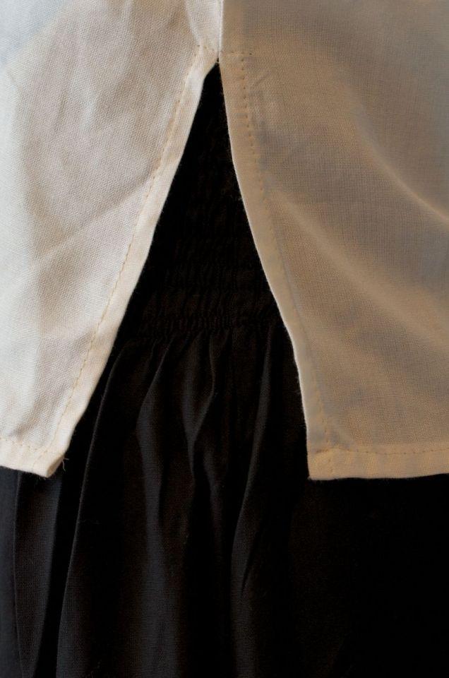 Damenbluse mit Rückenschnürung XL | natur 5
