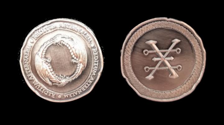 LARP-Münzen Drachen 5
