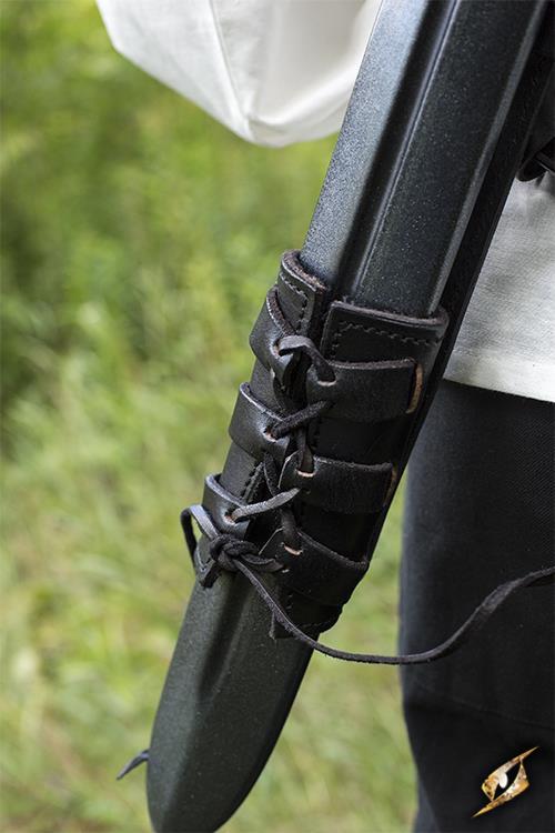 Rücken-Schwerthalter für LARP-Schwerter schwarz 5