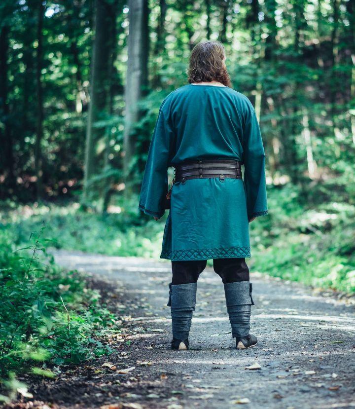 Wikingertunika Horik grün 5