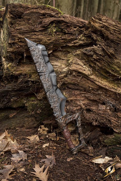 Ork Klinge für LARP - 60 cm 5