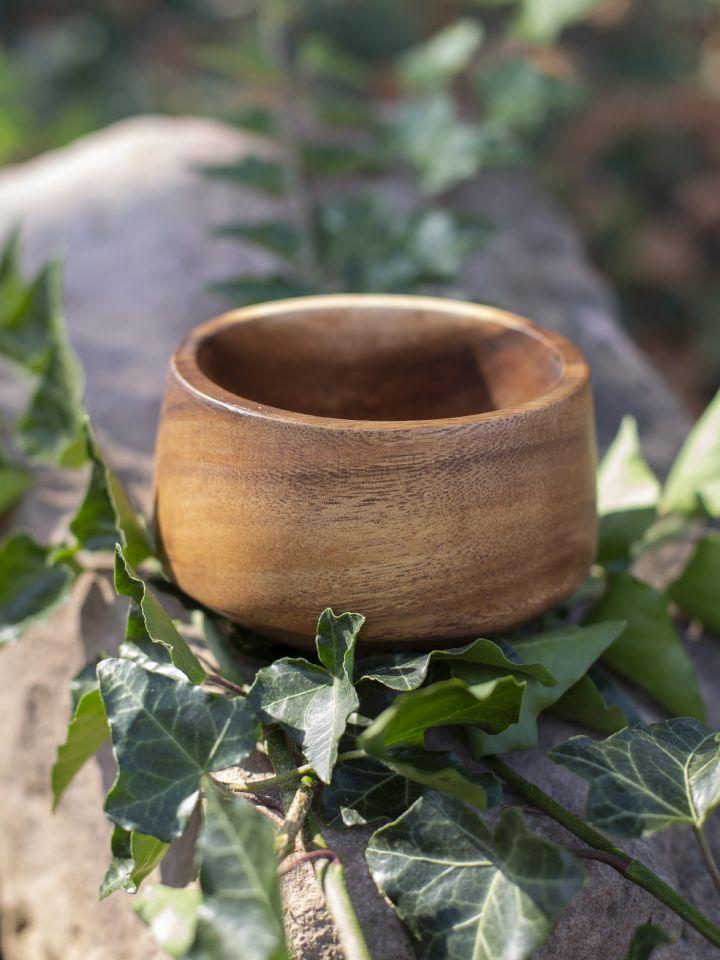 konische Schale aus Akazienholz 5