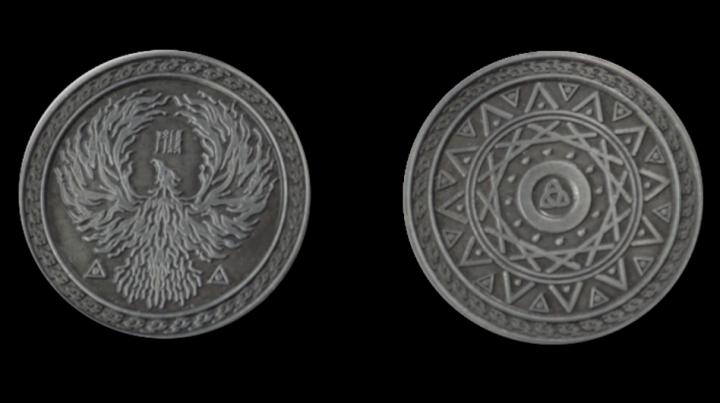 LARP-Münzen Magier 5