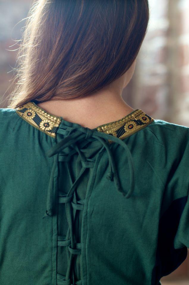 Kleid Klarissa grün-schwarz 5