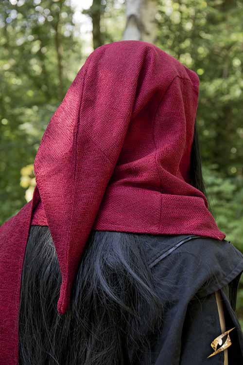 Schal-Gugel rot 5