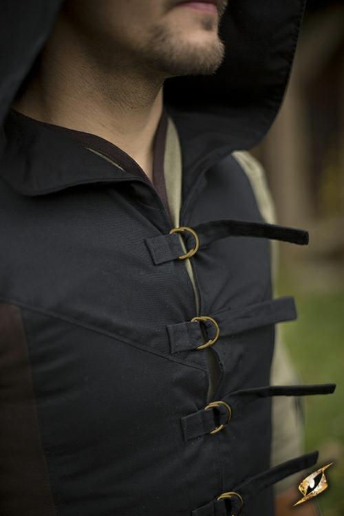 Westenmantel Altair braun-schwarz 5