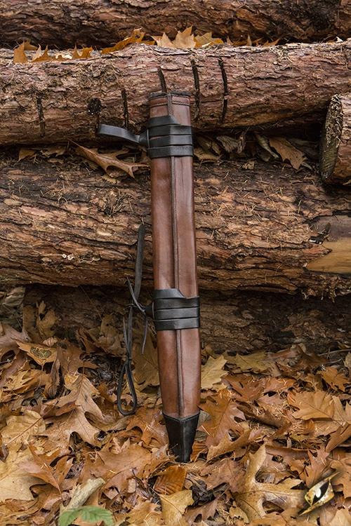 Schwertscheide für Larpschwerter large | schwarz 5
