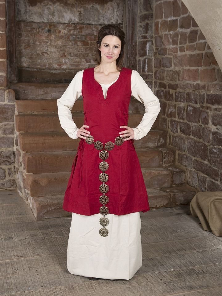 Überkleid Lannion rot 5