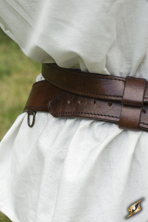 Schwertgürtel für LARP-Schwerter braun 6