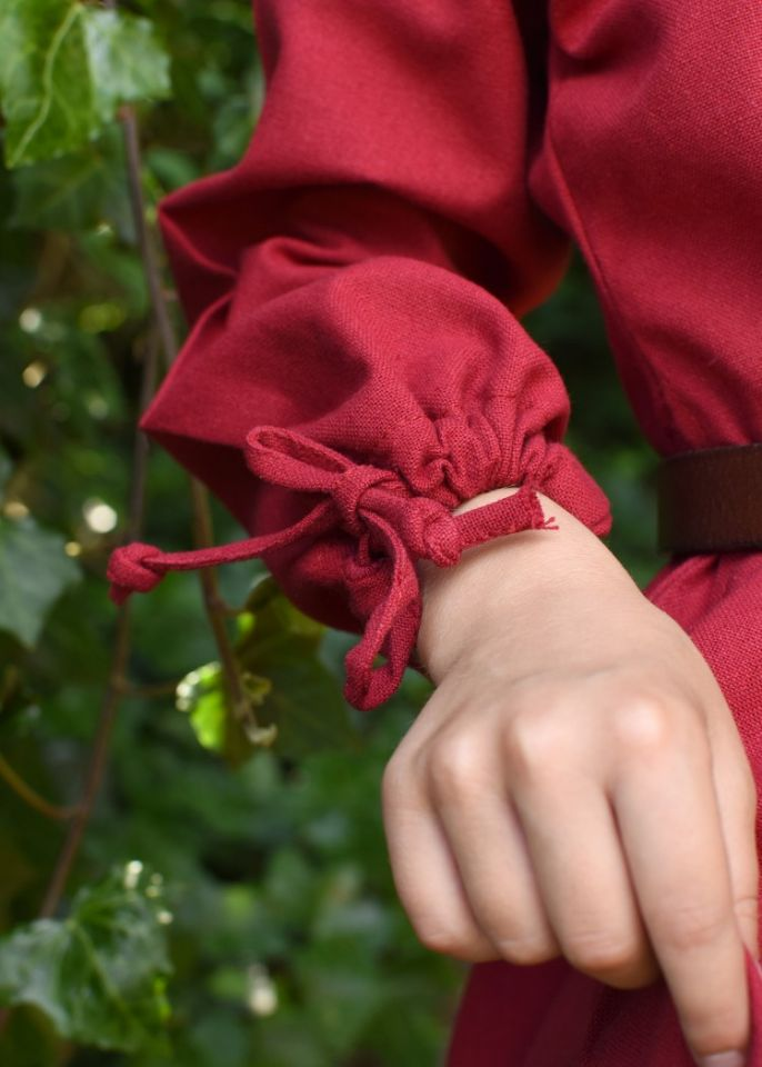 Kinder-Unterkleid Mara rot 6