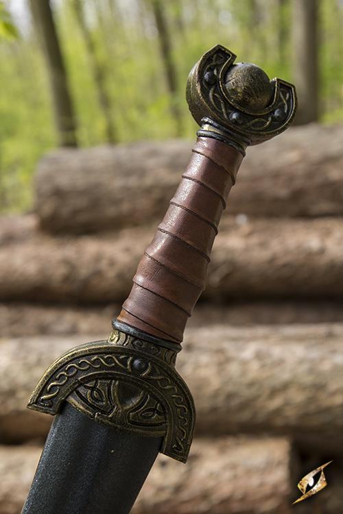 Keltisches Blattschwert für LARP - 60 cm 6