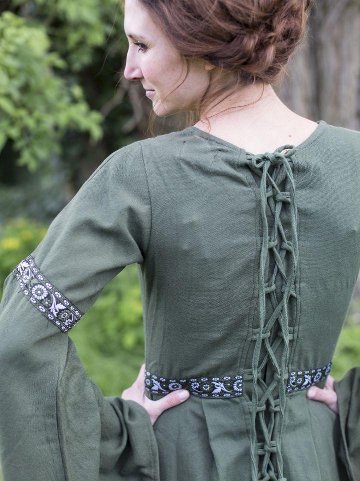 Herbstkleid in waldgrün 6